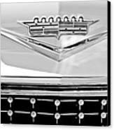 1958 Cadillac Eldorado Biarritz Convertible Emblem Canvas Print by Jill Reger