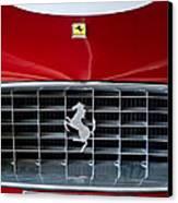 1960 Ferrari 250 Gt Swb Berlinetta Competizione Grille Emblem Canvas Print