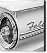 1963 Ford Falcon Futura Convertible Taillight Emblem Canvas Print