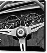 1965 Lotus Elan S2 Steering Wheel Emblem Canvas Print by Jill Reger