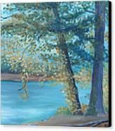 A Good Fishing Day Canvas Print by Glenda Barrett