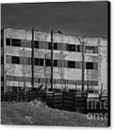 Abandoned Factory At Vadu Canvas Print by Gabriela Insuratelu