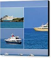 Antibes - Superyachts Of Billionaires Canvas Print