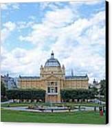 Art Pavilion Canvas Print by Borislav Marinic