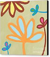 Bali Garden Canvas Print by Linda Woods