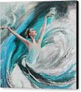 Ballerina  Canvas Print by Corporate Art Task Force
