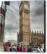 Big Ben London Canvas Print by Donald Davis