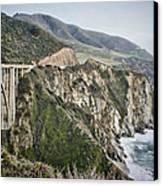 Bixby Bridge Vista Canvas Print by Heather Applegate