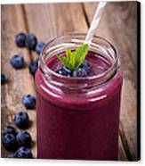 Blueberry Smoothie Canvas Print