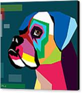 Boxer  Canvas Print by Mark Ashkenazi