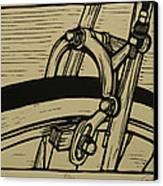 Brake Canvas Print