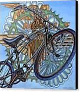 Bsa Parabike Canvas Print by Mark Jones