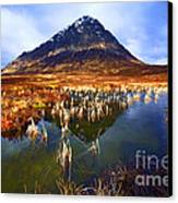 Buachaille Etive Mor Scotland Canvas Print by Craig B