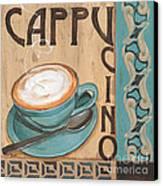 Cafe Nouveau 1 Canvas Print by Debbie DeWitt