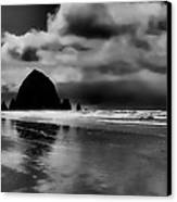 Cannon Beach - Oregon Canvas Print by David Patterson