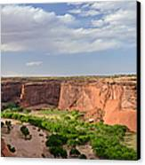 Canyon De Chelly From Sliding House Overlook Canvas Print