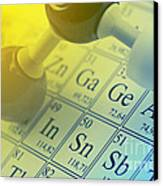 Chemistry Concept Canvas Print by Shawn Hempel