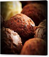 Chocolate Truffles Canvas Print