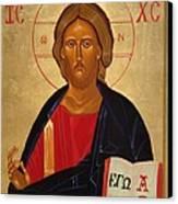 Christ Pantocrator Canvas Print by Joseph Malham