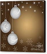 Christmas Background Canvas Print