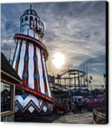 Clacton Pier Canvas Print by Andrew Lalchan