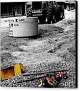 Construction Site Canvas Print by   Joe Beasley