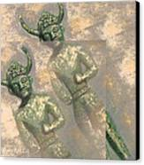 Cyprus Gods Of Trade. Canvas Print