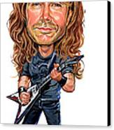 Dave Mustaine Canvas Print by Art