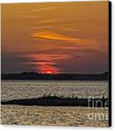 Day Is Done Canvas Print by Joe McCormack Jr