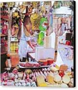 Deli On The Via Condotti Canvas Print