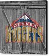Denver Nuggets Canvas Print by Joe Hamilton