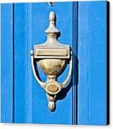 Door Knocker Canvas Print by Tom Gowanlock