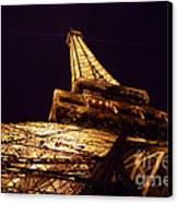 Eiffel Tower Paris France Canvas Print by Patricia Awapara