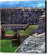 El Morro Fortress Old San Juan Canvas Print