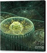 Fantasy Landscape Canvas Print by Martin Capek
