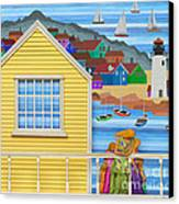 Finally Home Canvas Print by Anne Klar