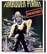 Forbidden Planet  Canvas Print by Silver Screen