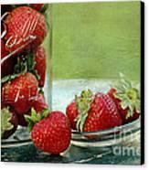 Fresh Berries Canvas Print by Darren Fisher