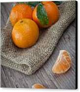 Fresh Tangerine Canvas Print