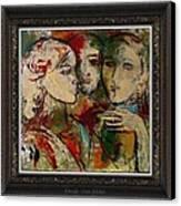 Friends Canvas Print by Ivan Filchev