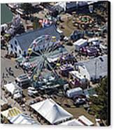 Fryeburg Fair, Maine Me Canvas Print by Dave Cleaveland