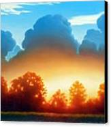 Glowing Canvas Print by Kevin Lawrence Leveque