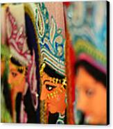 Goddess Durga Canvas Print by Atin Saha