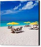 Grace Bay Beach Canvas Print