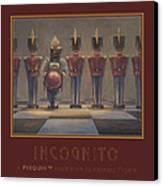 Incognito Canvas Print by Leonard Filgate