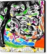 It's Pretty Wicked Canvas Print by Joe Dillon