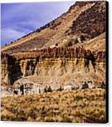 John Day Fossil Beds Nations Monuments Canvas Print by Shiela Kowing