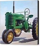 John Deere Tractor Canvas Print