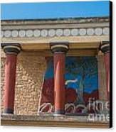 Knossos Palace Canvas Print by Luis Alvarenga
