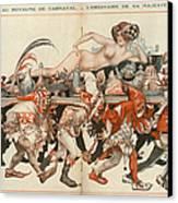 La Vie Parisienne 1926 1920s France Canvas Print